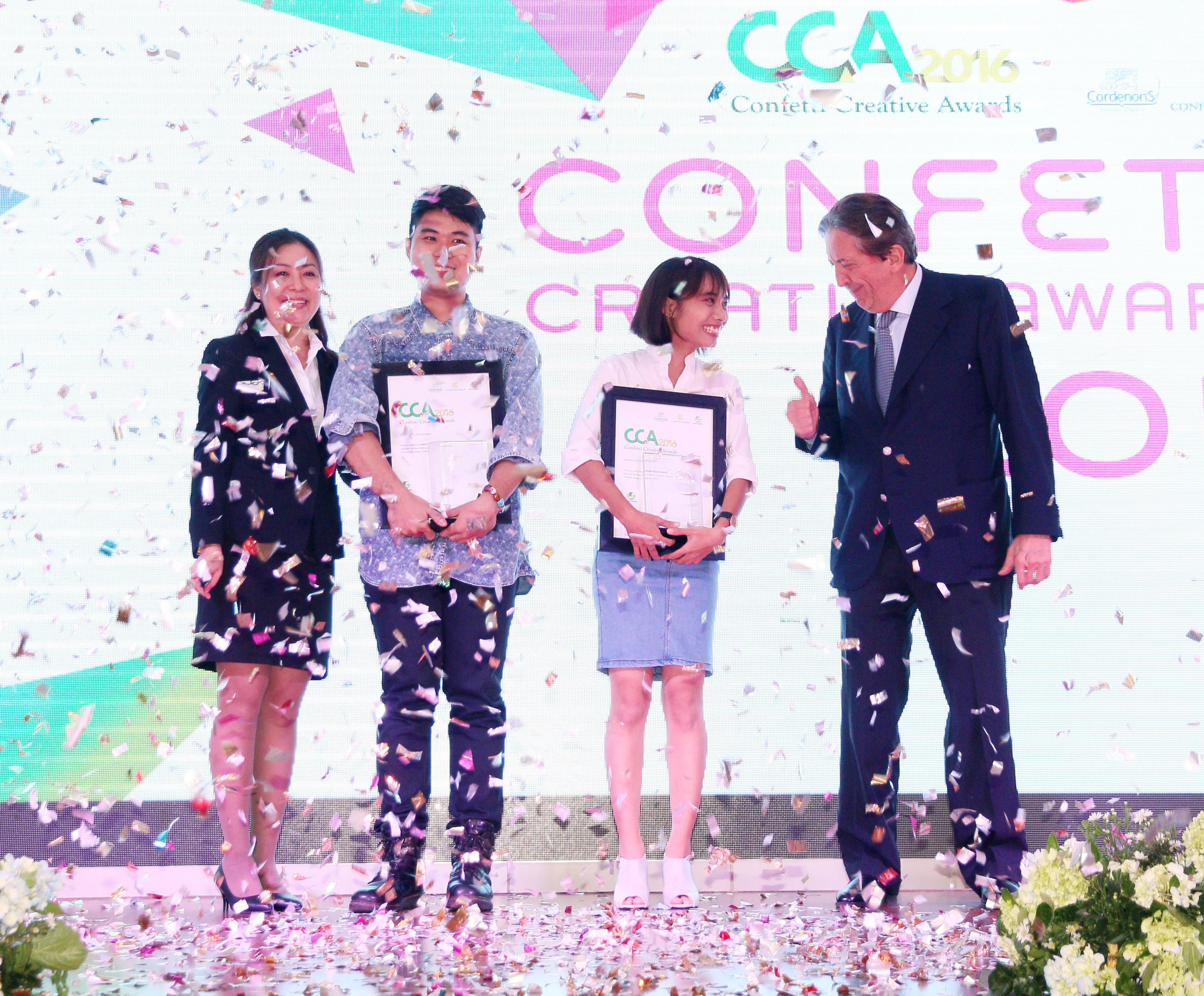 Cuộc thi thiết kế Confetti Creative Awards 2016 | Giải Nhất